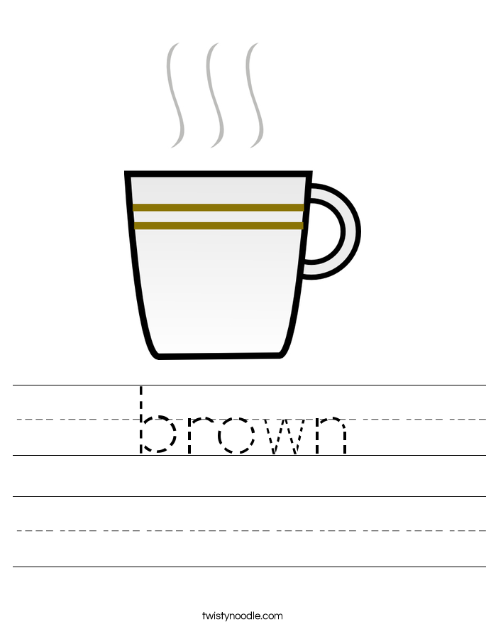 brown Worksheet