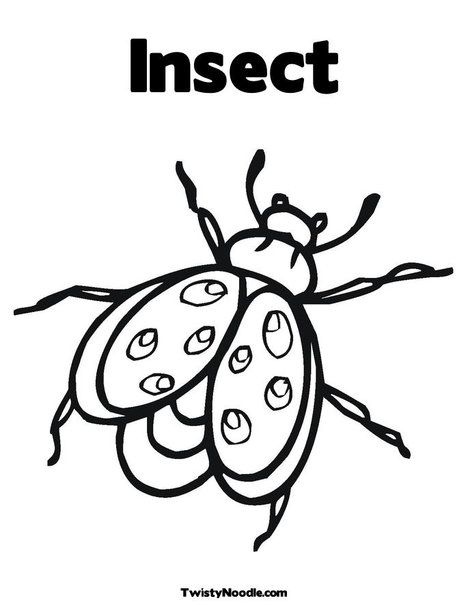 coloring pages insects. Print Your Coloring Page title=