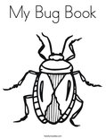 My Bug BookColoring Page