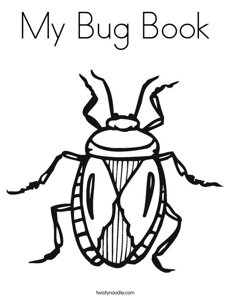 Beautiful B Is For Bug Coloring Page Ideas