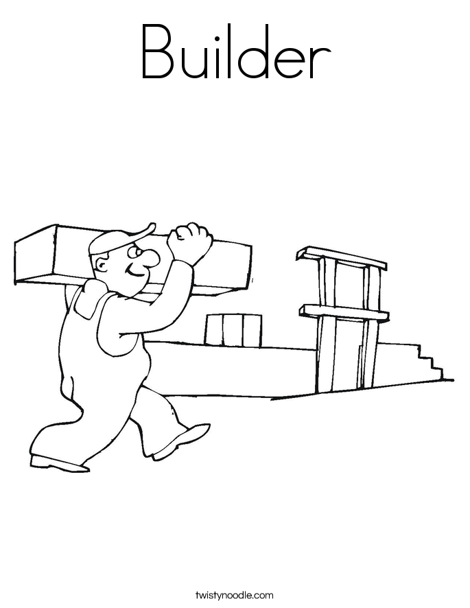 builders coloring pages - photo#12