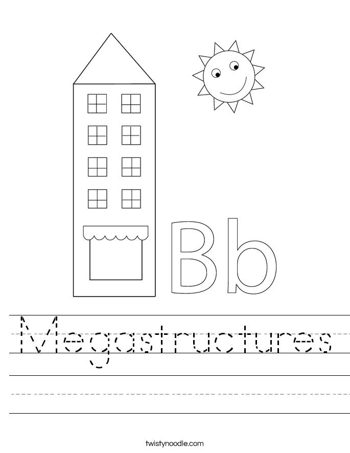 Megastructures Worksheet