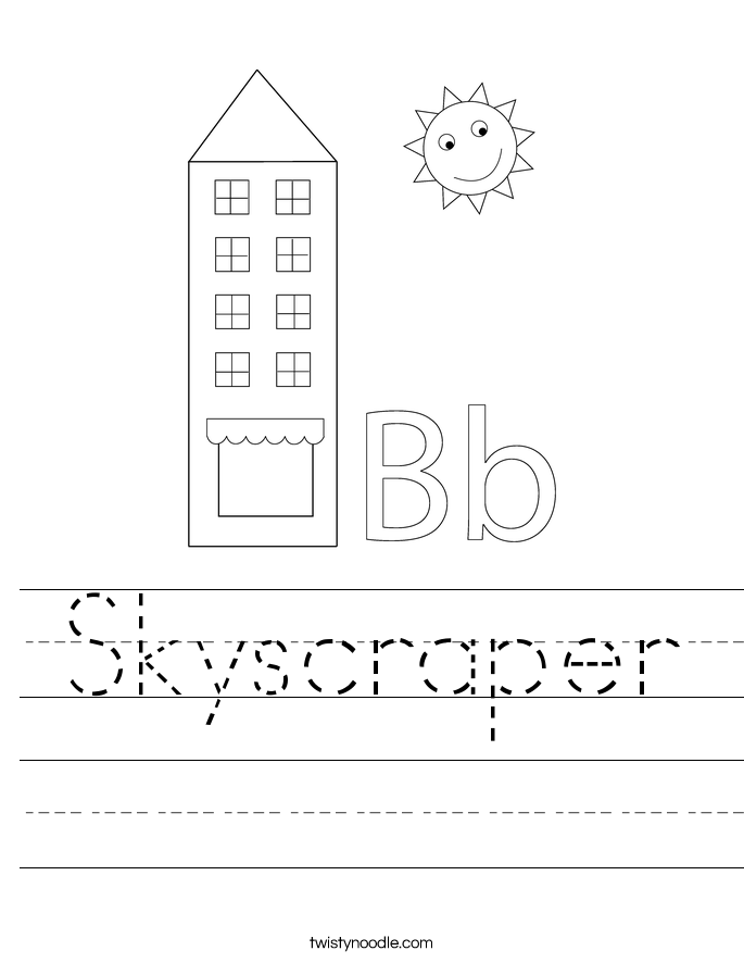 Skyscraper Worksheet