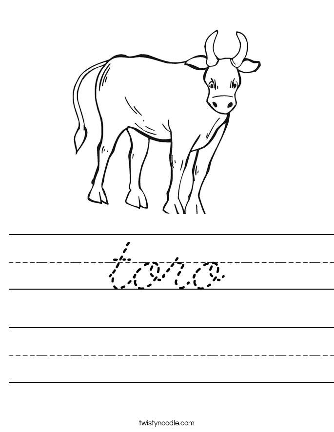 toro Worksheet