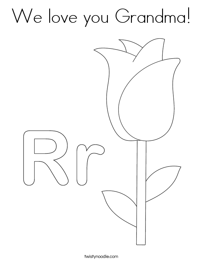 we love you coloring pages - photo#21