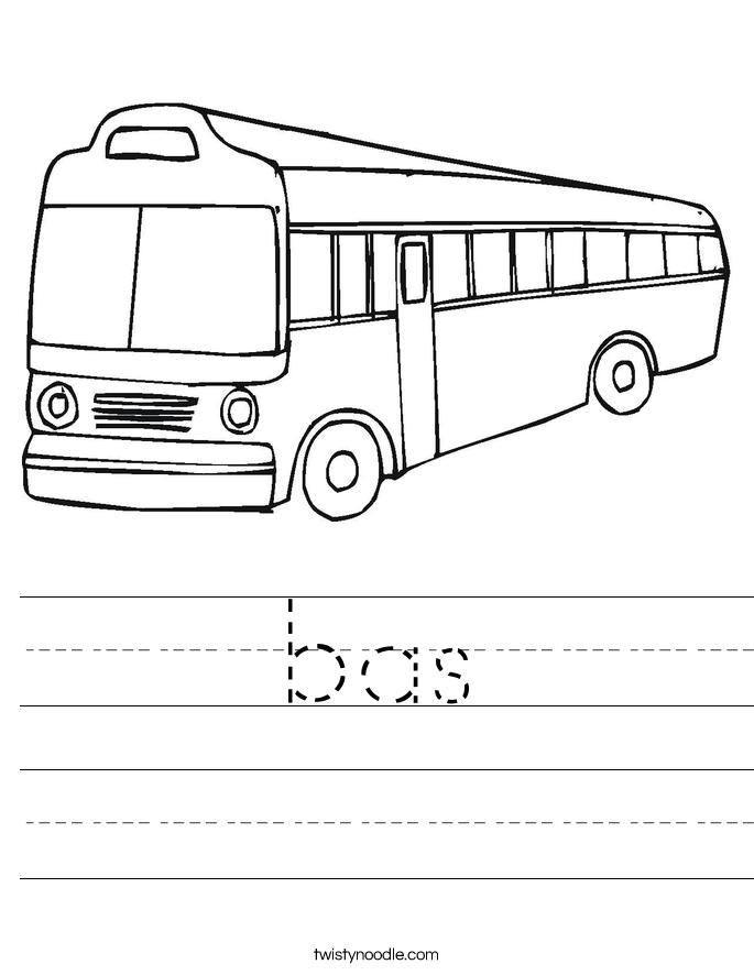 bas Worksheet