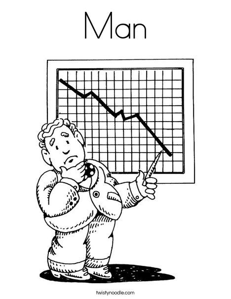 Businessman Coloring Page