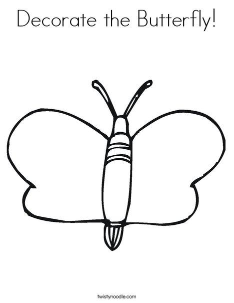 Mariposa Coloring Page
