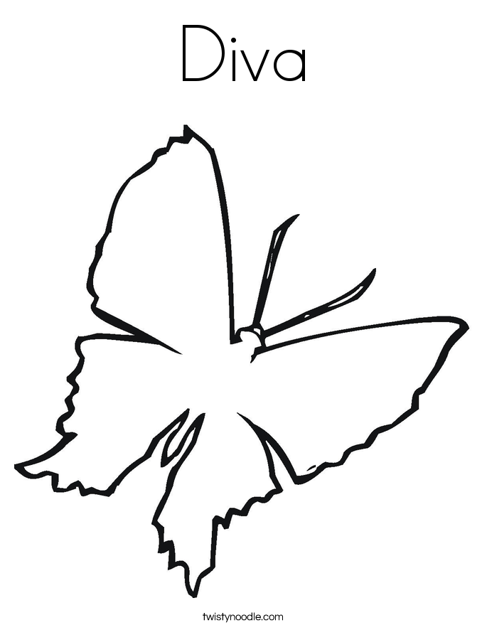 diva coloring pages diva free colouring pages
