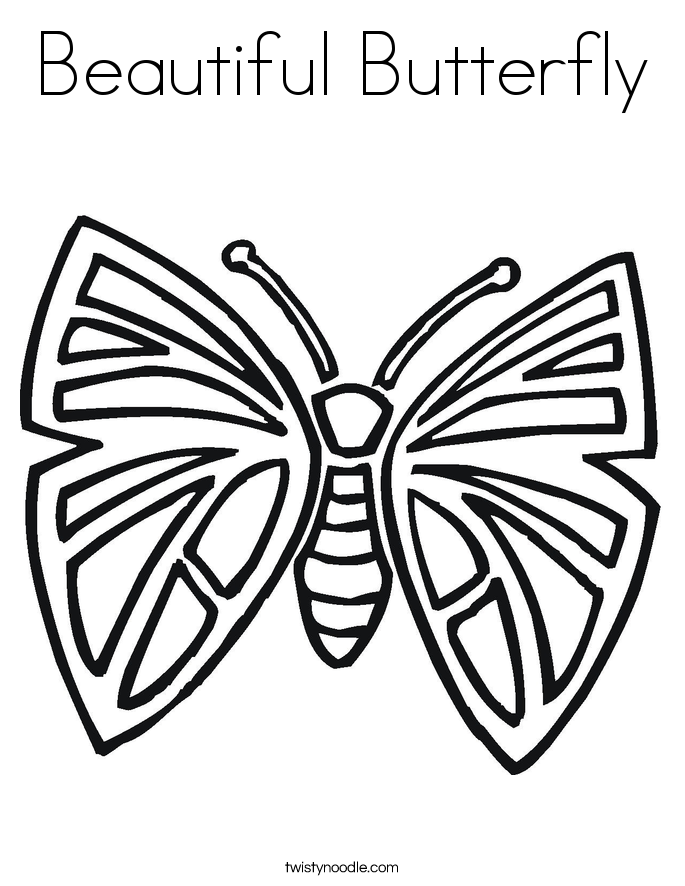 Bug and Insect Coloring Pages Twisty Noodle