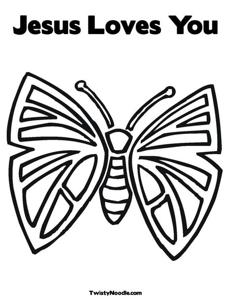 jesus loves you coloring pages - photo#11