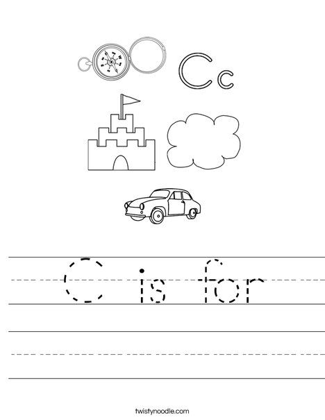 C is for Worksheet