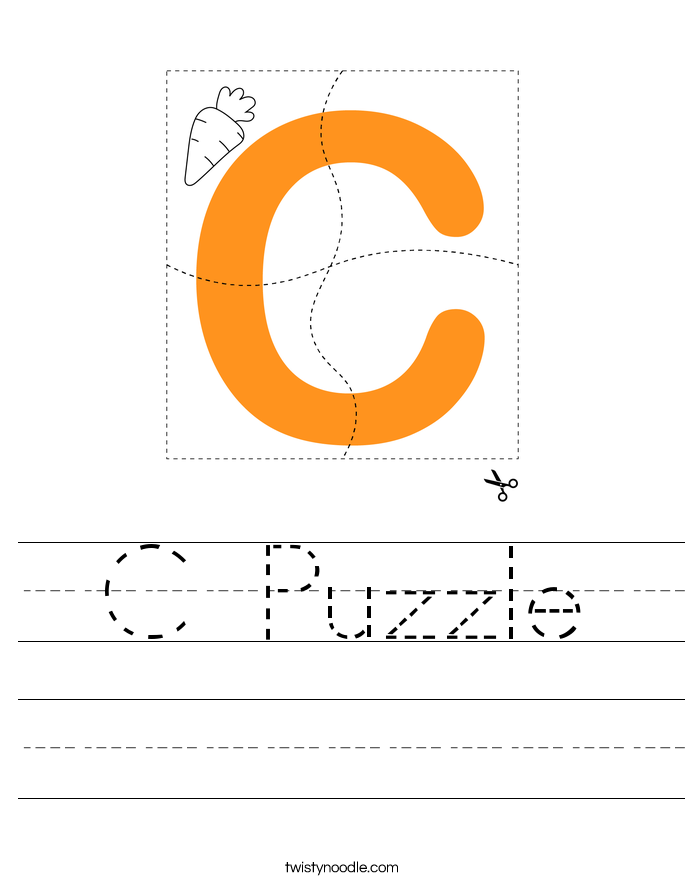 C Puzzle Worksheet