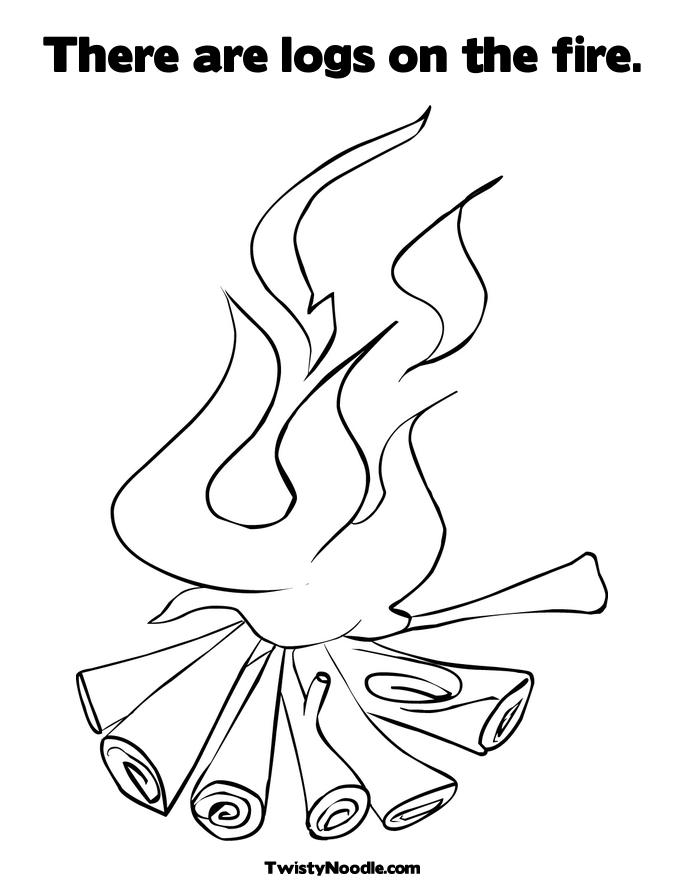 Fire coloring books free coloring pages for Fire coloring page