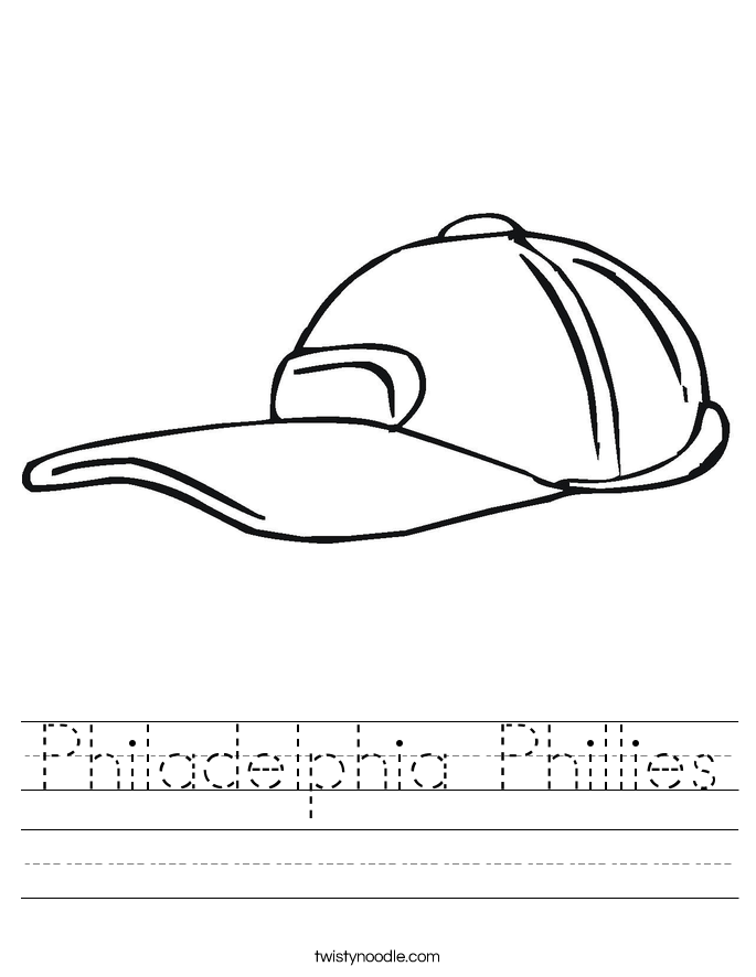 Philadelphia Phillies Worksheet