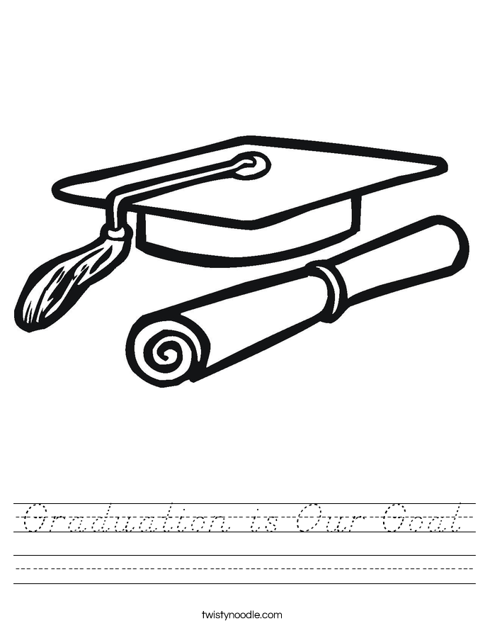Graduation is Our Goal Worksheet