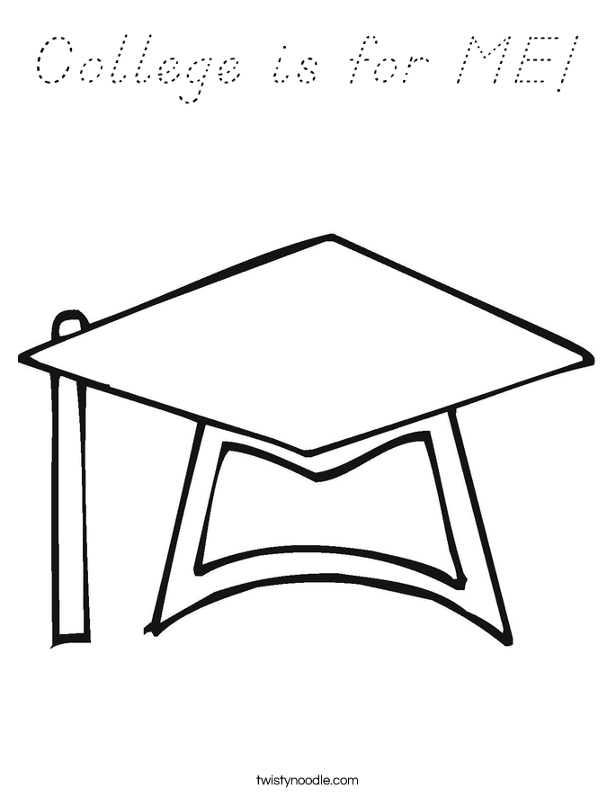 College is for ME! Coloring Page