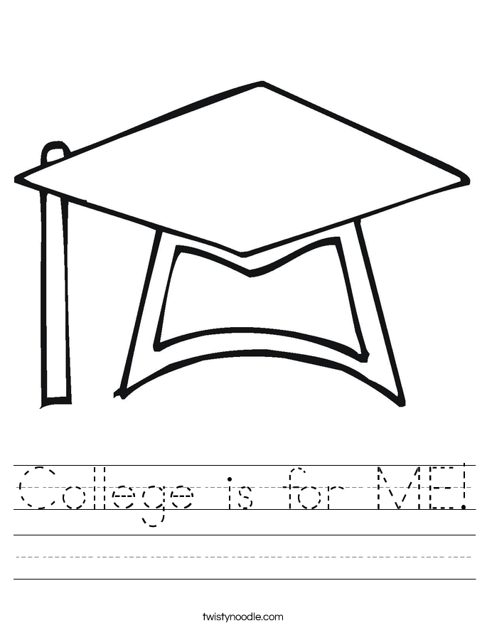 College is for ME Worksheet Twisty Noodle – College Worksheets