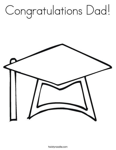 congratulations dad coloring page twisty noodle. Black Bedroom Furniture Sets. Home Design Ideas