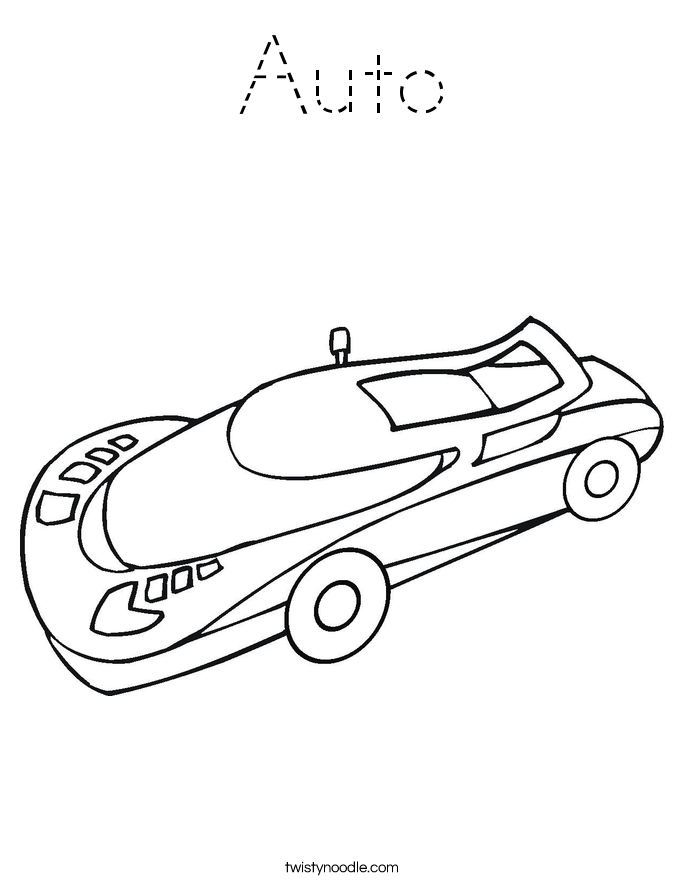 Auto Coloring Page