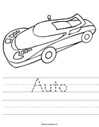 Auto Handwriting Sheet