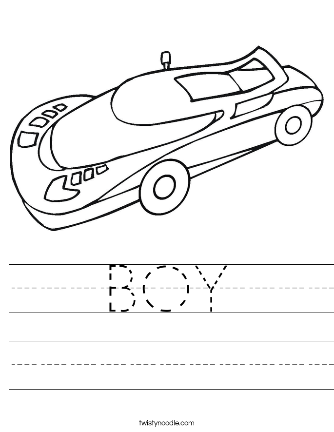 BOY Worksheet