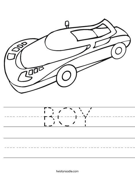 Auto Worksheet
