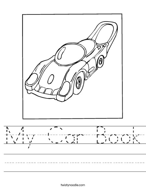 Motor Car Worksheet