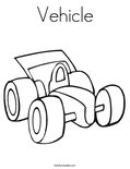 VehicleColoring Page