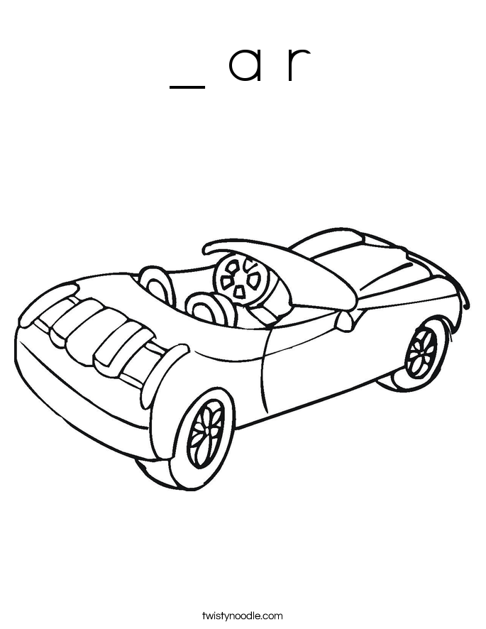 _ a r Coloring Page