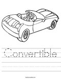 Convertible Worksheet