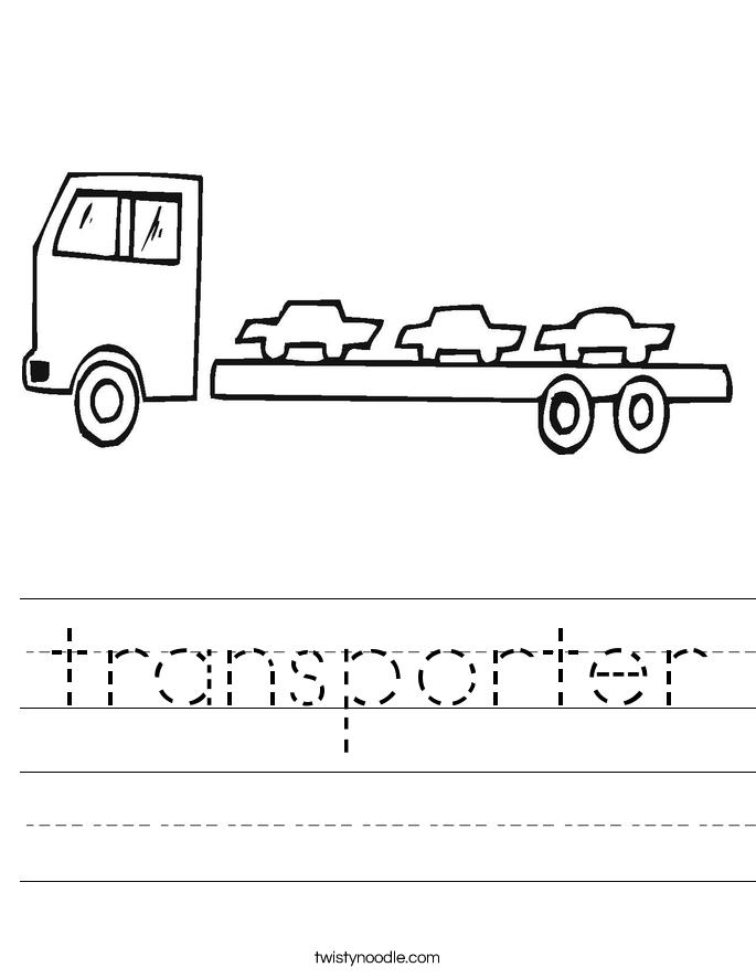 transporter Worksheet