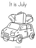 It is JulyColoring Page