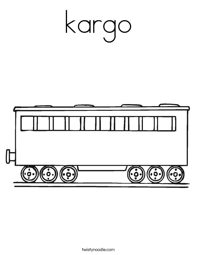 kargo Coloring Page