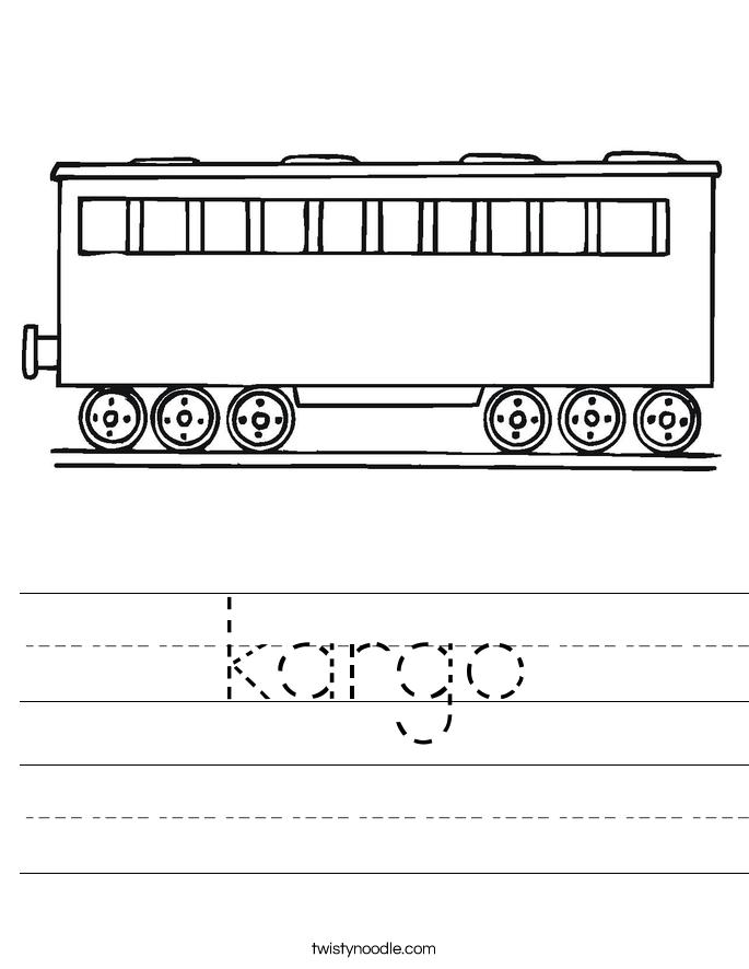kargo Worksheet
