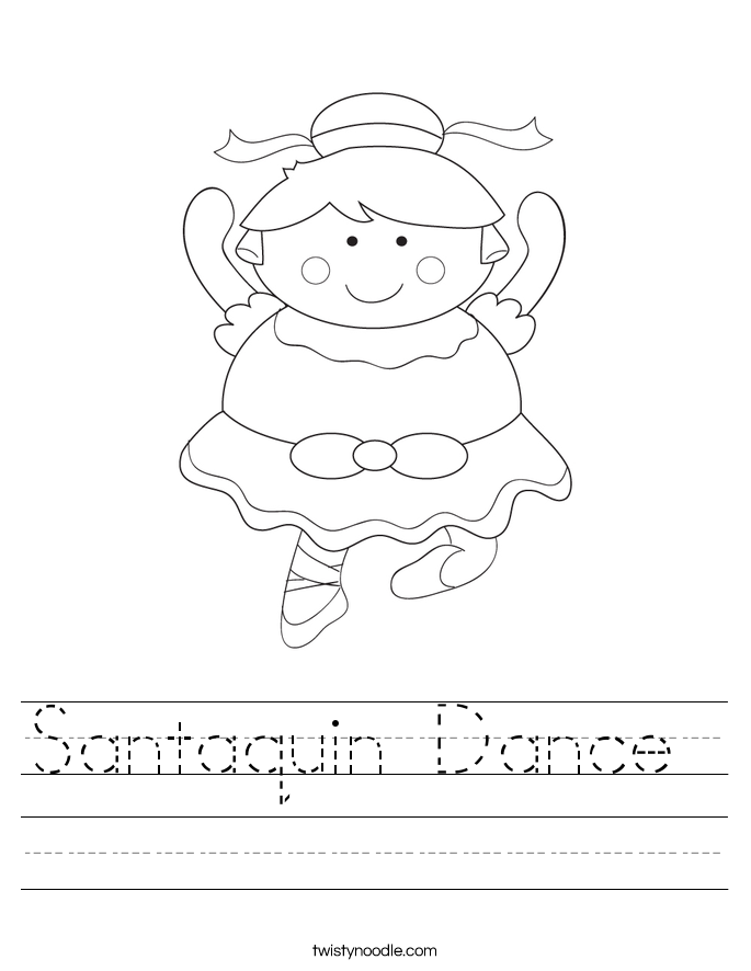 Santaquin Dance  Worksheet