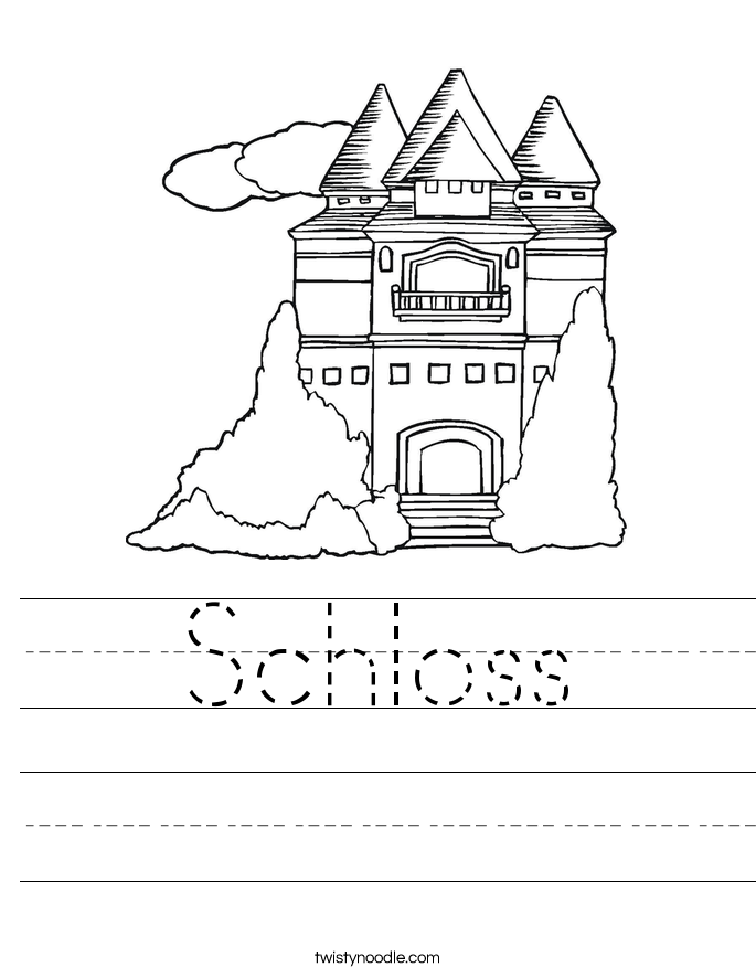 Schloss Worksheet