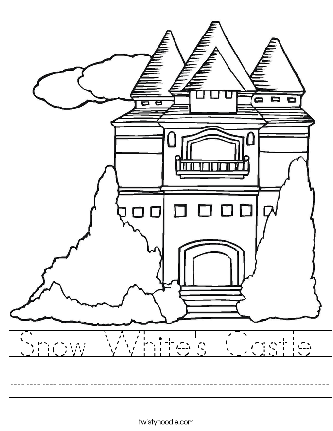 Snow White's Castle Worksheet