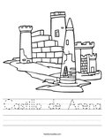 Castillo de Arena Worksheet
