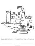 Sandcastle - Castillo de Arena Worksheet