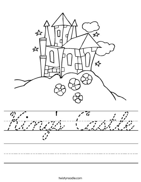 King's Castle Worksheet