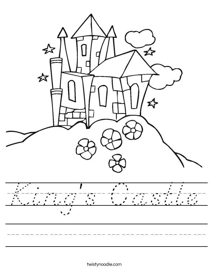 King's Castle Worksheet