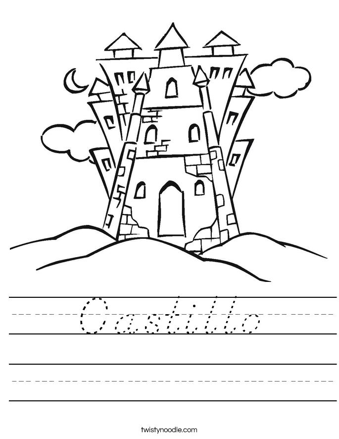 Castillo Worksheet