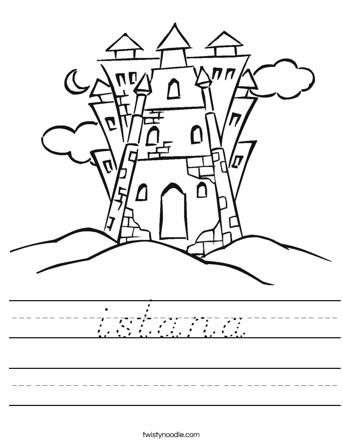 istana Worksheet
