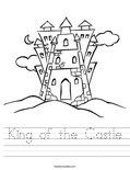 King of the Castle Worksheet