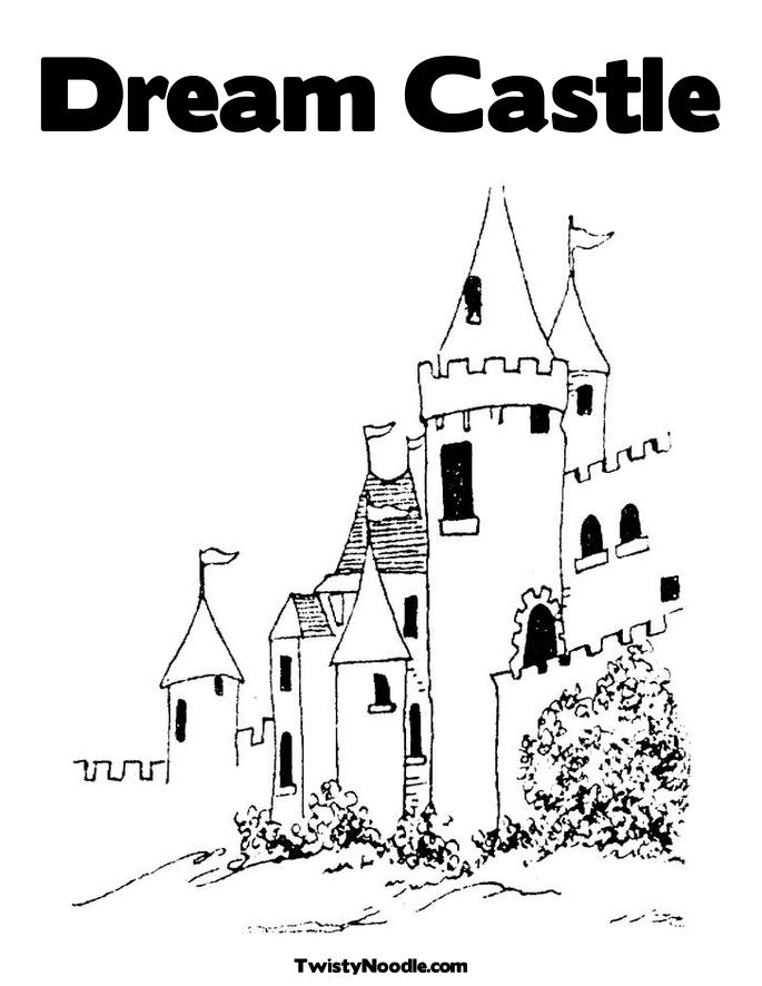 Free Coloring Pages Of Fairy Castle Castlfairy