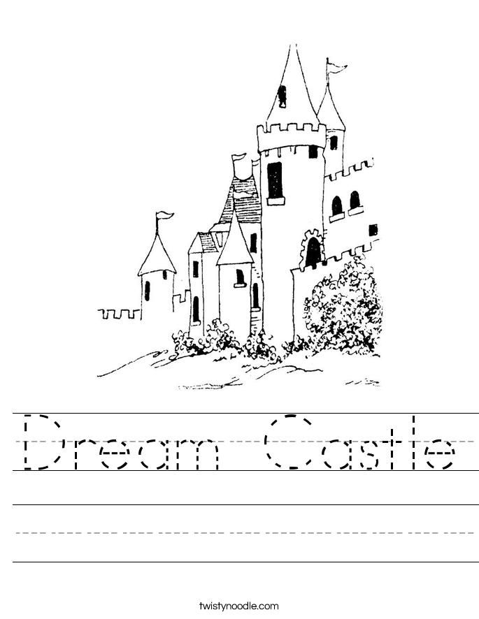 Dream Castle Worksheet