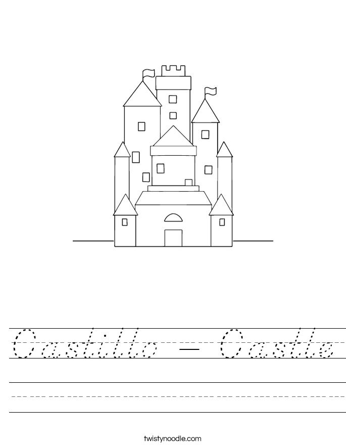 Castillo - Castle Worksheet