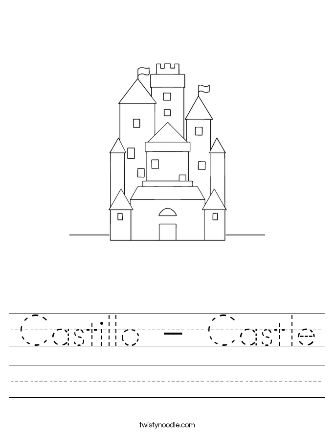 Castillo - Castle Worksheet