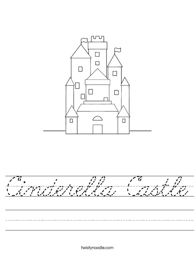 Cinderella Castle Worksheet
